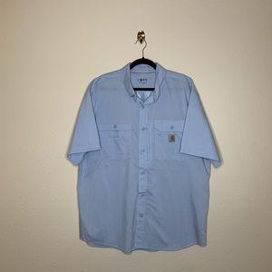 Carhartt Force Button Ridgefield Solid SS Shirt